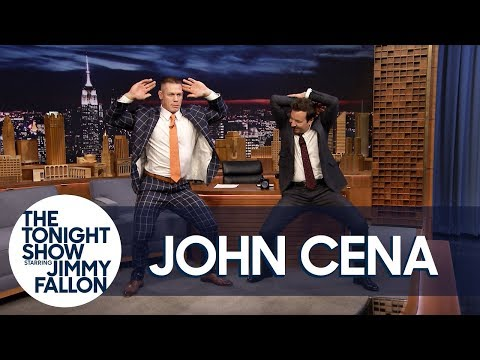 "Jimmy Teaches John Cena Madonna's ""Girl Gone Wild"" Dance for His Wedding"