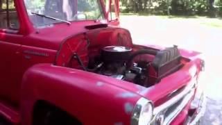 1956 international pickup s100