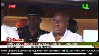 Akufo-Addo Don't Need New Register To Secure Second Term - Buaben Asamoa