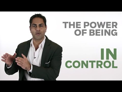The Power of Being in Control