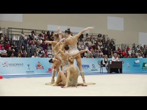 Russian National Group(clubs+hoops, RCh 2016, Sochi)