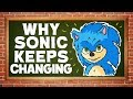 Why Sonic the Hedgehog's Design Keeps Changing