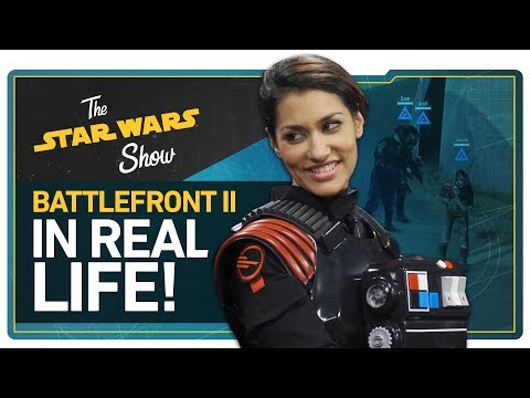 Download Youtube: We Play Battlefront II in REAL LIFE, New Star Wars Trilogy & Live-Action TV Show Announced, & More!