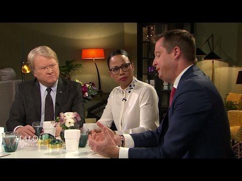 """Ygeman: """"Kvinnliga yrken strukturellt undervärderade"""" - Malou Efter tio (TV4)"""