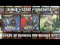 MTG Guilds of Ravnica PreRelease Kit | Dimir Izzet Selesnya