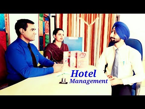 INTERVIEW : CAREER IN HOTEL MANAGEMENT : BHM, BBA, MBA, Diploma, Job Openings ||