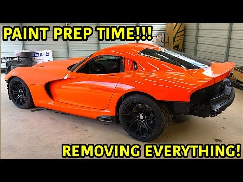 Rebuilding A Wrecked 2014 Dodge Viper TA TIME ATTACK PART 14