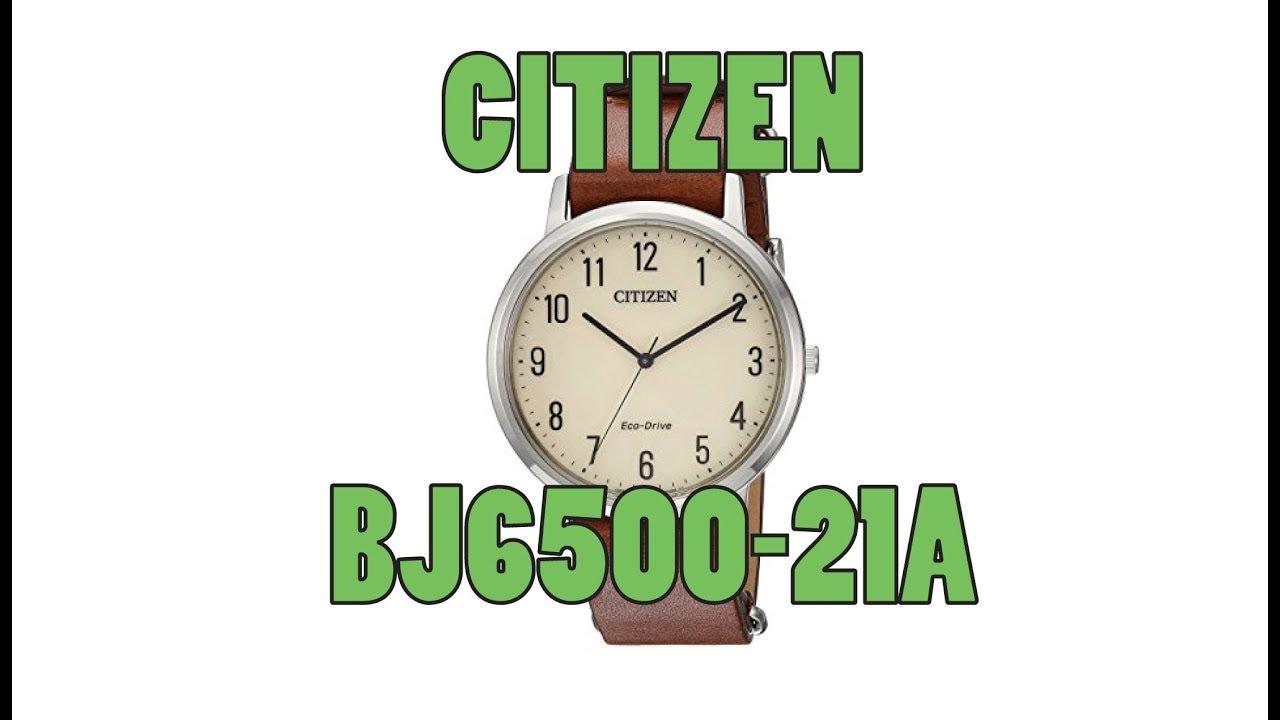 8a3815efcf64d5 Citizen Men's Watch BJ6500-21A Review - Classic Minimalist Watch ...