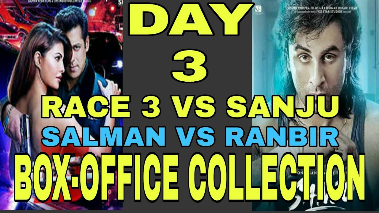 3rd day collection of race 3