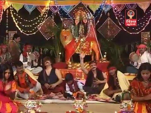 Hemant Chauhan- Shri Harsiddhi Maa Na Zulna- Mataji Na Dakla | Veradi Zulna