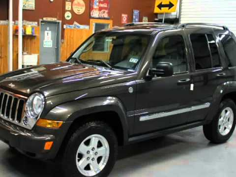 2005 Jeep Liberty Diesel 4x4 Sunroof CRD Limited Leather 2.8L (Houston,  Texas)