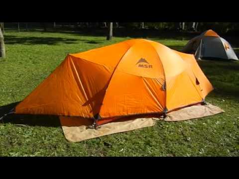 carpa msr asgard tent & carpa msr asgard tent - YouTube