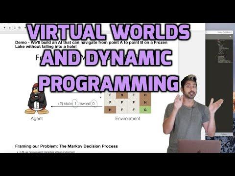 Navigating a Virtual World Using Dynamic Programming