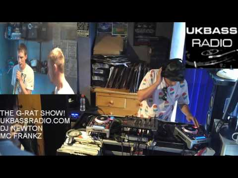 DJ NEWTON FT. MC's FRANKZ, MARINIO & HYDE UKBASS RADIO 16 07 16