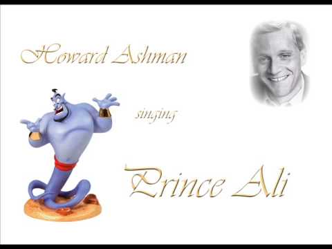 Howard Ashman sings Prince Ali