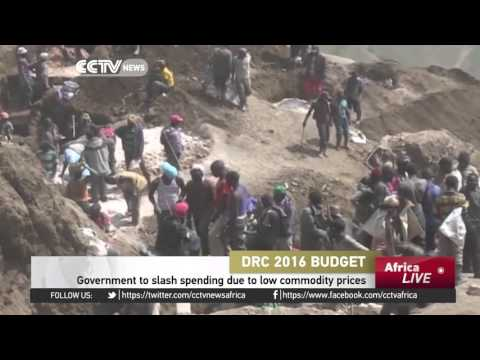 DR Congo government to slash spending due to low commodity prices