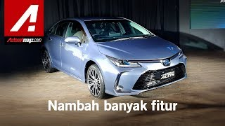All New Toyota Corolla Altis Hybrid 2019 First Impression Review by AutonetMagz