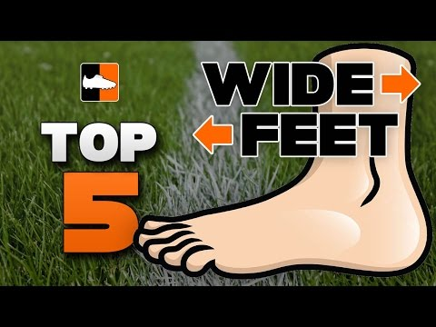 Top 5 Football Boots for Wide Feet