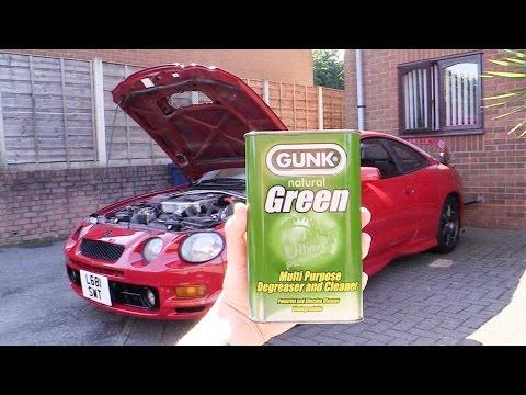 Toyota Celica GT-Four Engine De-Gunked