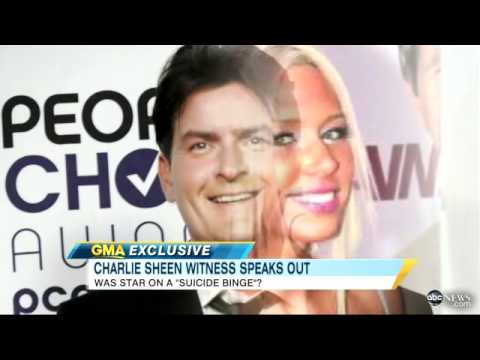 PORN STAR TELLS ALL ABOUT CHARLIE SHEEN from YouTube · Duration:  4 minutes 33 seconds