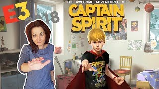 The Awesome Adventures of Captain Spirit TRAILER Reaction and Analysis