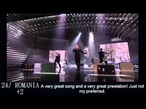 Eurovision 2015 My personal TOP 40 (After the show and with comments)