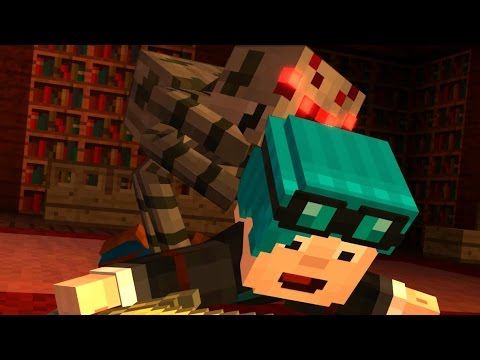 Minecraft I SAVED THEDIAMONDMINECART STORY MODE