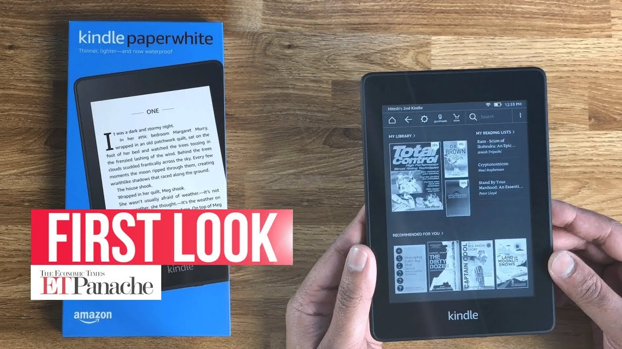 Unboxing the all-new Amazon Kindle Paperwhite | 10th Generation | Kindle  Paperwhite 4 | ETPanache