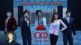 [심즈4] The Sims 4/MMD Dance - EXID/이엑스아이디 - I love you/알러뷰 [M…