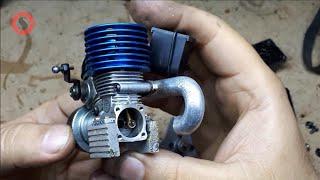 Nitro Engine Mini RC Car/ One-Way Fixing - Nitro Motor Tamiri