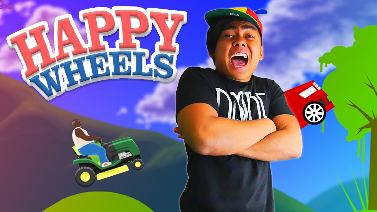 Impossible Level Completed 100 Happy Wheels Youtube
