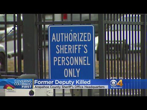 Man Shot At Arapahoe County Sheriff's Lot Was Former Deputy