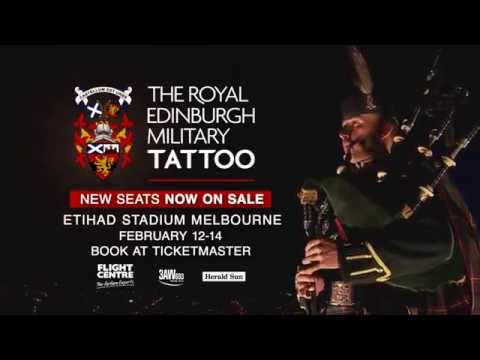Royal edinburgh military tattoo melbourne new seats on for Royal military tattoo