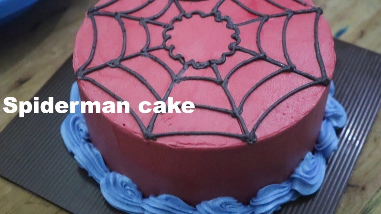 Cara Menghias Kue Ulang Tahun Spidermen Kue Karakter Anak Laki Laki