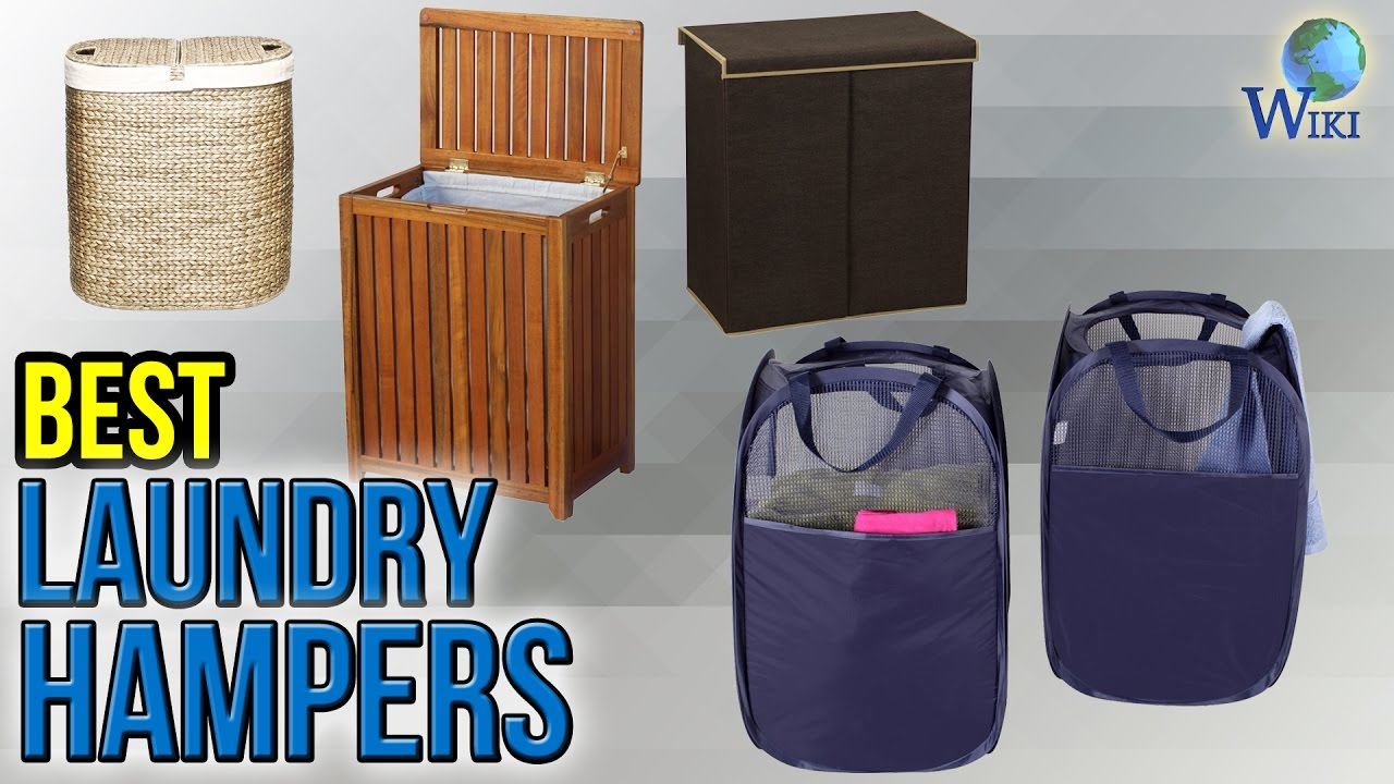 10 Best Laundry Hampers 2017 Youtube