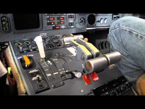 Challenger 601 Cockpit