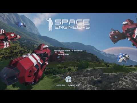 Space Engineers Server Setup / Rental Guide, And Droping In You Saved Games For Server Lay
