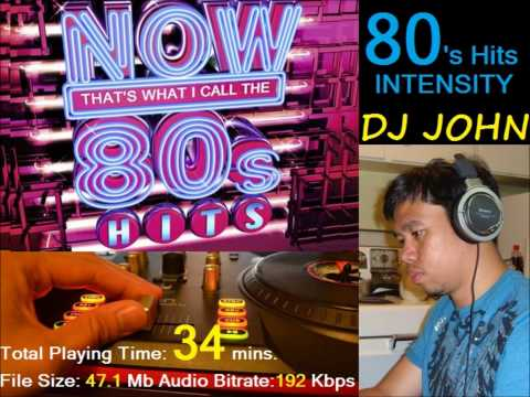 DJ Manoy John - The Best of 80's Hits Intensity