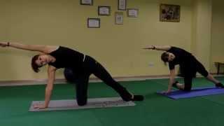 Быстро похудеть   Оксисайз Oxycize видео уроки упражнений онлайн, бесплатно  растяжка, наклоны
