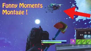 Funny Moments Montage*Shopping Cart Jumps*Glitches*Snipes*Fortnite!