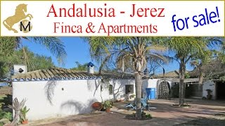 for sale: Country property finca rental units Jerez Cadiz Andalusien Reitimmobilie zu verkaufen