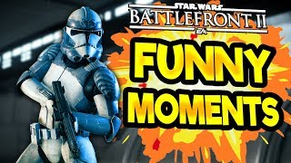 Star Wars Battlefront 2 Funny & Random Moments [FUNTAGE] #60  - The Wolfpack is Back!