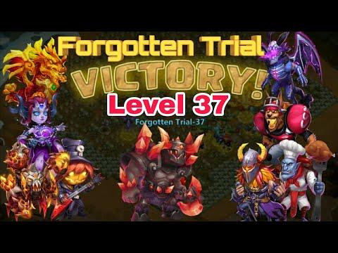 Forgotten Trial - Level 37 | Ac/Aries | Hero Set Up | Best Drop Point | Castle Clash