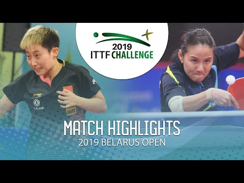 Fan Siqi Vs Yang Xiaoxin | 2019 ITTF Belarus Open Highlights (1/4)
