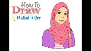 How To Draw Gadis Muslimah #iPadPro