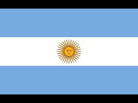 Флаг Аргентины.