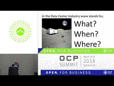 OCPUS18 – Micro Modular Datacenters