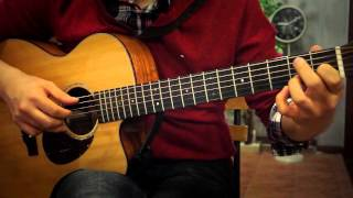 Fingerstyle - Yesterday Once More (Beginner)