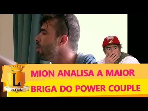 Mion analisa a maior e 'melhor' briga do Power Couple Brasil no Vale a Pena Ver Direito