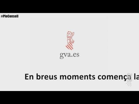 Emisión en directo de Generalitat Valenciana